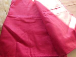 Humour B15 Ancien Tissu Vintage Rose Foncé Lumineux Coton 1 M 25 Sur 87 Cm