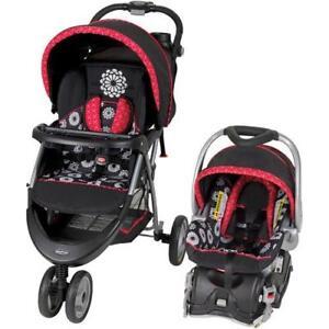 Baby Trend Stroller Car Seat Travel System Infant Boys Girls Baby EZ ...