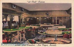 Postcard-21-Club-Casino-Hotel-Last-Frontier-Las-Vegas-Nevada-NV