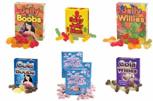 Jelly baby cola zizi seins mauve poule//stag adulte dégustations fun stocking filler