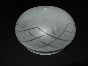 24 cm die Halterung Ø ca Lampenschirm Glas Ersatz E27 Weiß- K0014