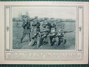 1915 Première Guerre Mondiale G.mondiale 1 Imprimé ~ Volontaires Freiwillige à P8yrwgq2-07235406-553280220