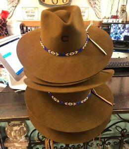 CHARLIE-1-HORSE-Gypsy-ACORN-Brown-Women-039-s-Wool-Western-Hat-w-Feather