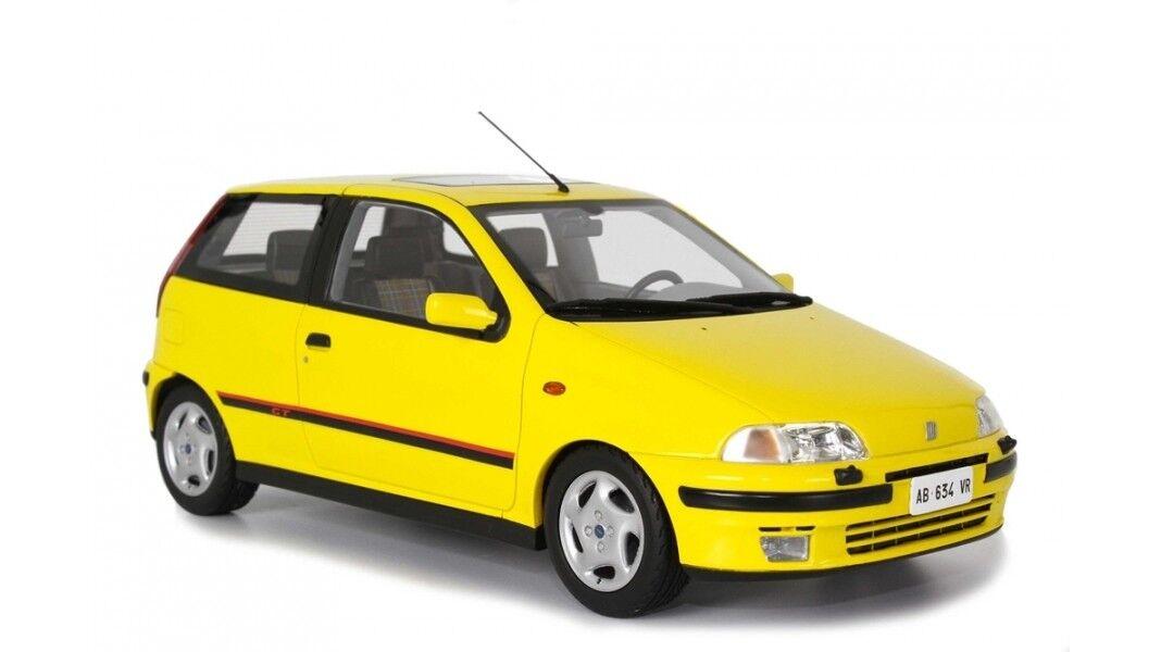 Fiat Punto Gt 1400 1° Serie 1993 jaune jaune LAUDORACING 1 18 LM113C