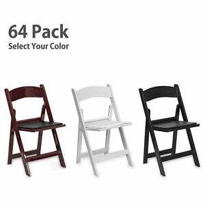 Sensational Details About Folding Resin Chair Event Party Wedding Commercial Indoor Outdoor Rental 64 Pack Theyellowbook Wood Chair Design Ideas Theyellowbookinfo