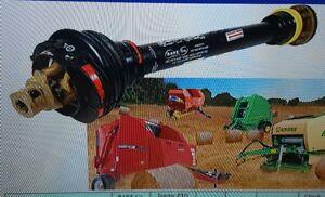 Details about NEW HOLLAND ROUND BALER PTO SHAFT Tractor Spline 6 Baler  Spline 21 w/Clutch