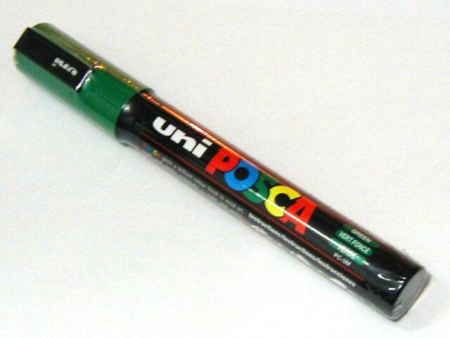 UNIPOSCA PC-5M 1,8-2,5 MM PUNTA MEDIA - COLORE VERDE
