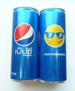 PEPSI-Cola-can-THAILAND-Tall-245ml-Promo-2016-Collect-COOL-SAYITWITHPEPSI
