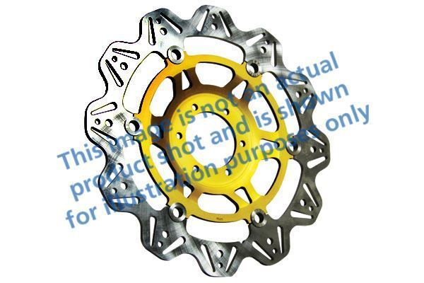 FIT TRIUMPH Sprint RS (from VIN 13927 02 EBC VR Brake Disc Gold Hub Front Right