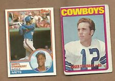 1983  TOPPS  TRADED  DARRYL  STRAWBERRY  ROOKIE  #  108T   MINT
