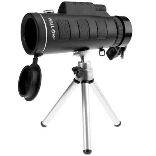 6pcs Kit 1x HD Fernrohr BAK4 40X60 Nachtsicht Monokular Spektiv Ferngläser
