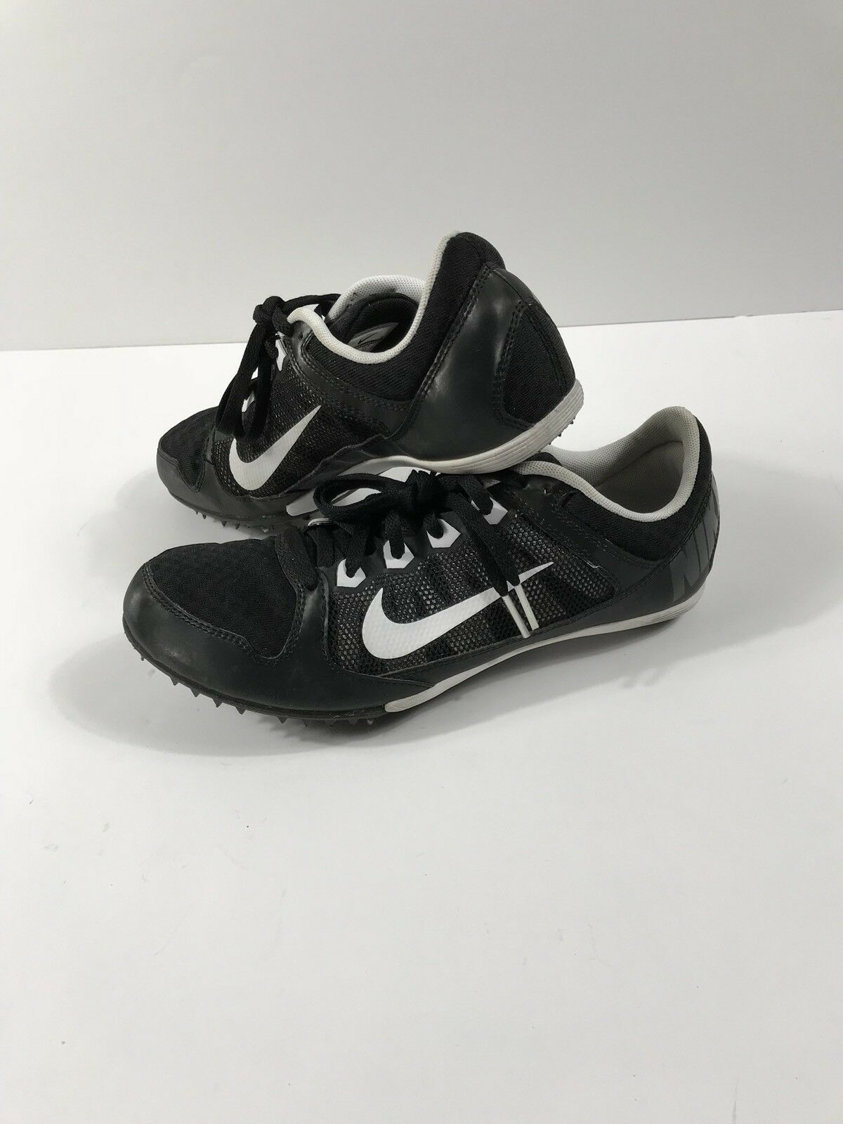Nike Zoom Rival MD 7 Distance Track Spike Men's 9.5 Black/White  Cheap women's shoes women's shoes