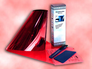 Blendstreifen Tönungsfolie Reflex-Blue blau sonnenblendstreifen 150x15cm