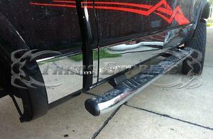 2009-2014-Ford-F-150-Crew-Cab-Chrome-Rocker-Panel-Trim-12Pc-7-034-Stainless-Steel