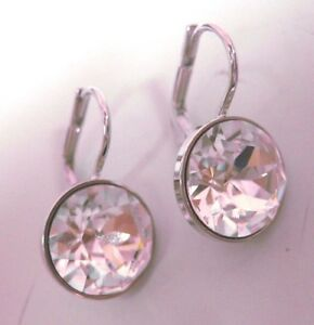 swarovski mini earrings mini clear pierced earrings 2014 swarovski 7376