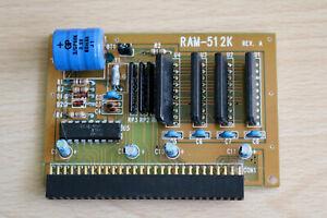 Speicher Erweiterung  512kb REV.A für AMIGA 500 und oder für A500+  #01