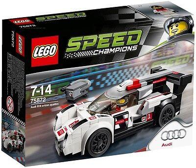 Original Audi R18 LEGO Speed Champions R18 e-tron quattro etron R18 Audi Modell
