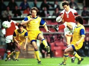6ccc099e9 ALAN SMITH SIGNED ARSENAL 16x12 FOOTBALL PHOTO 1994 CUP WINNERS CUP ...