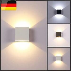 4//6//8W COB LED Wandleuchte Wandlampe Flur Strahler Licht Up Down Innen Modern DE