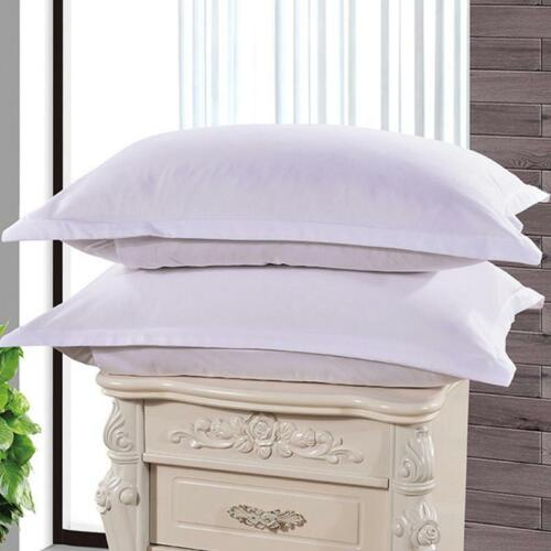 Bedroom Solid Color Pillow Cases Cover Soft Cotton Fashion Pillow Case W