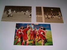Liverpool FC 1978 European Cup Final Kenny Dalglish set of 3 photographs