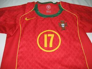 new concept 08f70 34238 NIKE PORTUGAL Cristiano Ronaldo 04-06 YOUTH SHIRT JERSEY ...