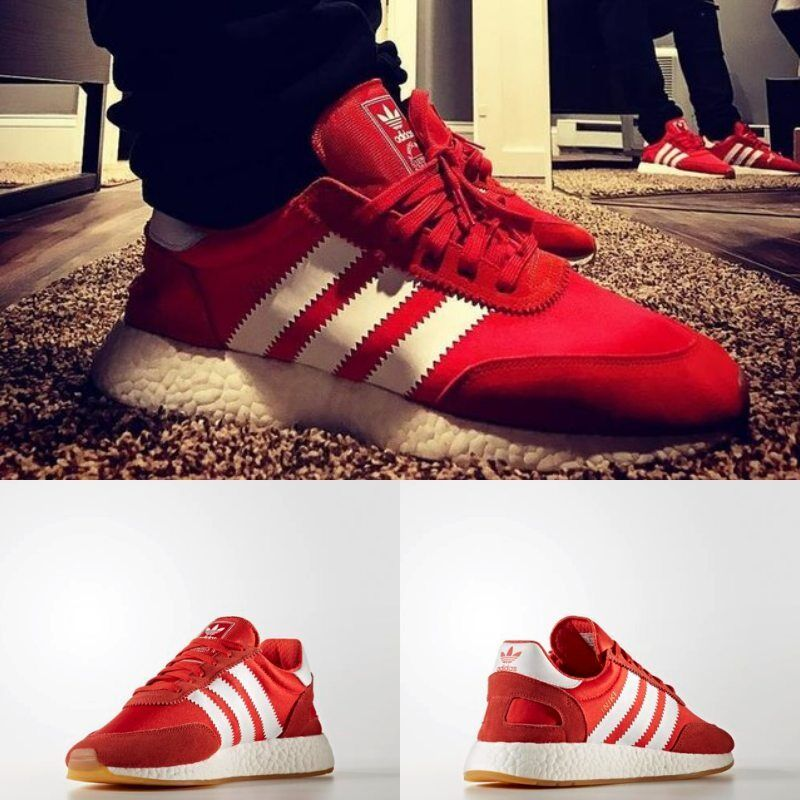 Adidas Unisex BY9728 Original INIKI Runner Red White Brown BY9728 Unisex Men Women NEW 810f2a