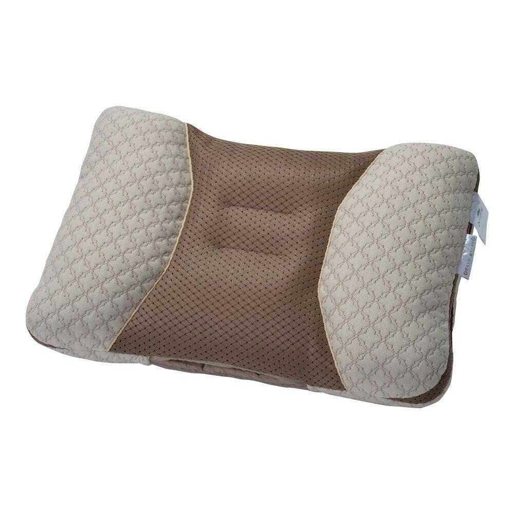 Kyotonishikawa Cotton & Pipe-Filled Pillows Beige 06-PL5550 Japan Fast Shipping