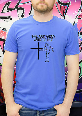 All Sizes to 5XL Retro 70s 80s Music TV THE OLD GREY WHISTLE TEST T SHIRT
