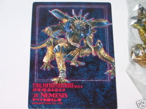 Final Fantasy Creatures vol.4 NO.38   Nemesis  Colour ver.