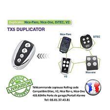 Télécommande Copieuse V2 Phoenix, Ditec, Nice-Flors, Nice-One, Portail garage