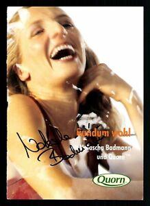Natascha Badmann Autogrammkarte Original Signiert Triathlon ## BC G 27680