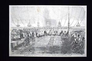 Wuzeerabad-Governatore-generale-d-039-India-Maharaja-Goolab-Singh-Incisione-del-1851
