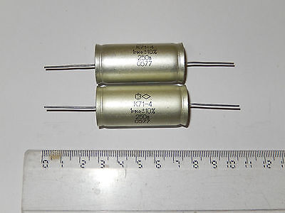 1uF  10% 250V Hi-End Polystyrene capacitors K71-4 Lot 4.