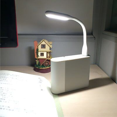 Flexible USB LED Light Lamp 4 Computer Keyboard Study Reading Notebook Laptop PC