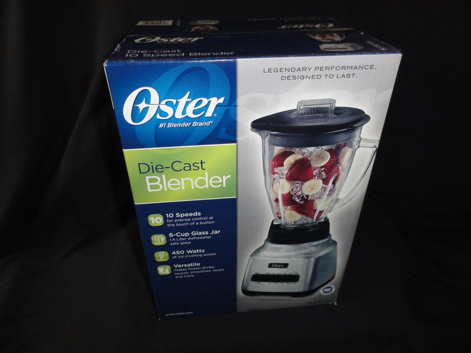 Blender 10 vitesses, 6-Cup Bocal en Verre, 450 W par Oster