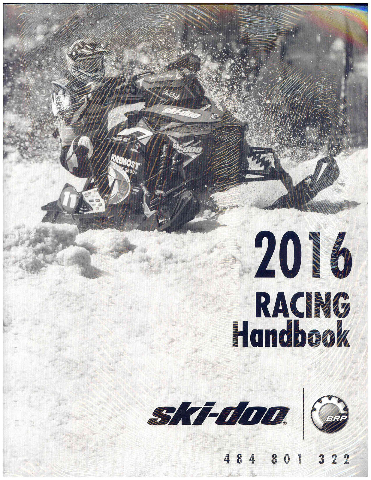 2016  SKI-DOO RACING HANDBOOK 484801322  there are more brands of high-quality goods