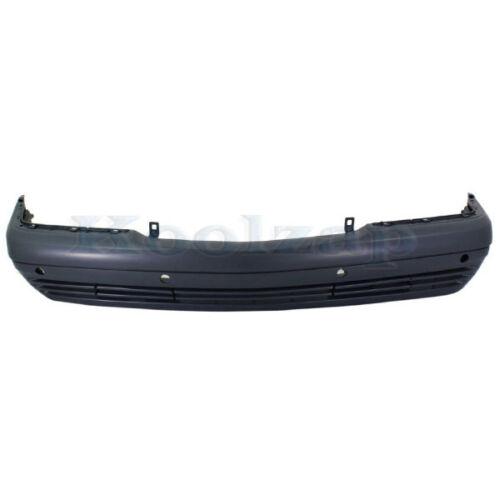 94-99 S-Class Front Bumper Cover Primed w//Park Sensor Holes MB1000119 1408802470