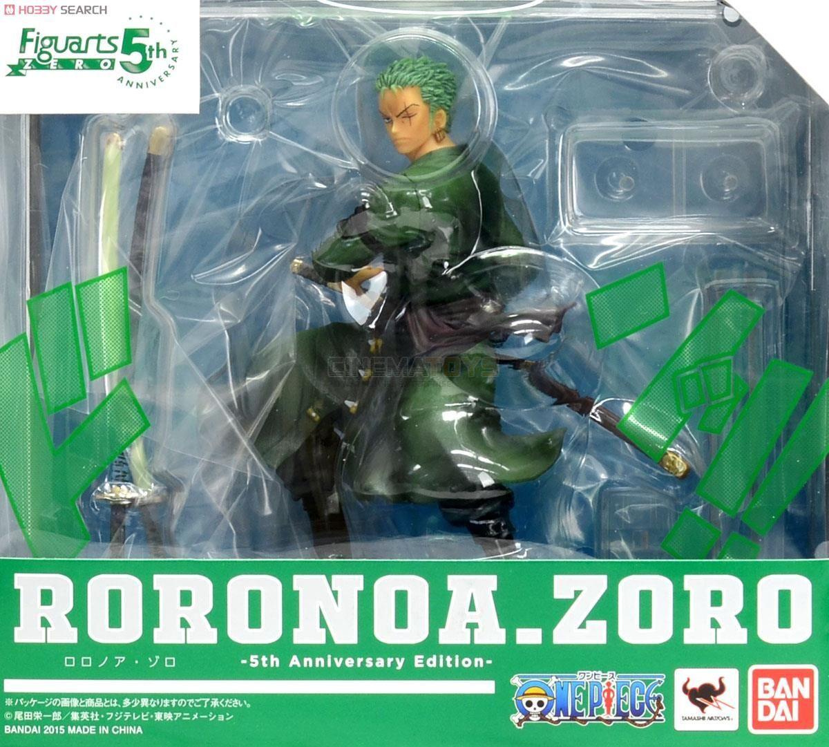ONE PIECE Figuarts ZERO Roronoa Zoro 5th Edition Static Figure Bandai Tamashii