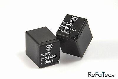 2X Relais Siemens V23072-C1061-A308 für Fiat Punto Servo Problem Relay Relé