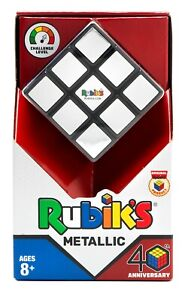 Rubik-039-s-3x3-Metallic-Anniversary-Cube-World-039-s-No-1-Puzzle