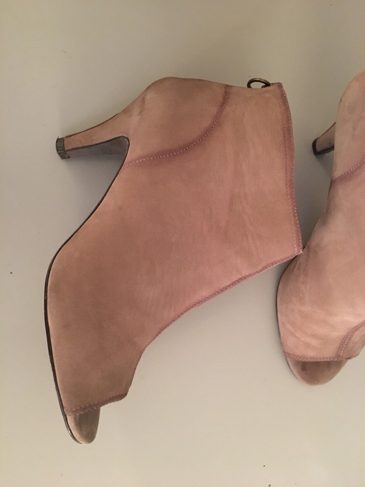 Ash Taupe En Daim Femmes Chaussures/Bottes Homme Taille 42 RRP 140 Boxed