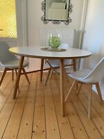 Spisebord mstole, Æg, ILVA, b: 120 l: 74, WHY