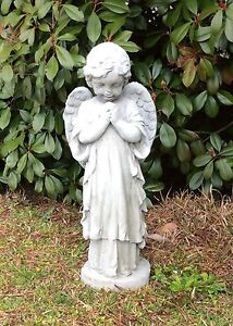 Image Is Loading Cement Statue Angel Yard Statue Garden Statue Concrete