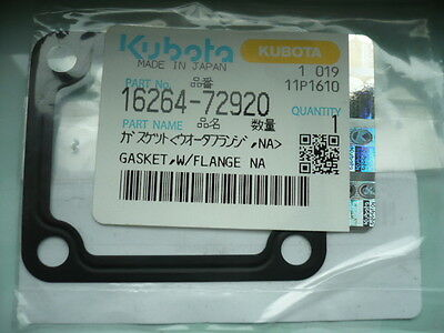 Dichtung Flansch Thermostat gasket Kubota KX41 Minibagger 1624172920 1626472920