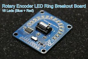 Details about Rotary Encoder LED Ring Breakout Board ( Blue + Red - Two  Color )