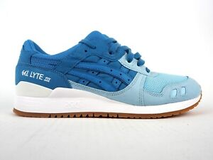 Mens-Asics-Gel-Lyte-III-H7E4Y-5456-Blue-Heaven-Lace-Up-Casual-Trainers
