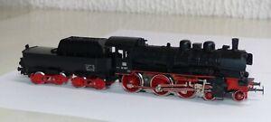 Maerklin-3098-Dampflok-BR-38-1807-DB-H0-1-87-sehr-guter-Zustand-Dampflokomotive