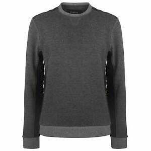 Firetrap-Sudadera-de-cuello-redondo-para-hombre-Caballeros-de-la-Iglesia-Pullover-Camiseta-Camiseta