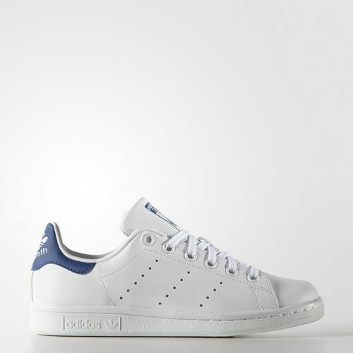 NEW ADIDAS ORIGINALS STAN SMITH SHOES Blue/Pink US Women/teen sizes Price reduction